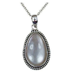 Shop Sunstone Pendants! Sunstone Necklace & Sterling Silver Pendant Necklace AG714 The Silver Plaza | Natural genuine Sunstone pendants. Buy crystal jewelry, handmade handcrafted artisan jewelry for women.  Unique handmade gift ideas. #jewelry #beadedpendants #beadedjewelry #gift #shopping #handmadejewelry #fashion #style #product #pendants #affiliate #ad