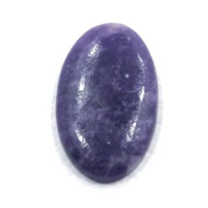 Shop Lepidolite Cabochons! Super Finest Quality Oval Shape  19*27 MM Lepidolite/ Stone Of Peace Lepidolite 23.65 cts/ Purple Lepidolite  Silver Jewelry Semi Precious | Natural genuine stones & crystals in various shapes & sizes. Buy raw cut, tumbled, or polished gemstones for making jewelry or crystal healing energy vibration raising reiki stones. #crystals #gemstones #crystalhealing #crystalsandgemstones #energyhealing #affiliate #ad