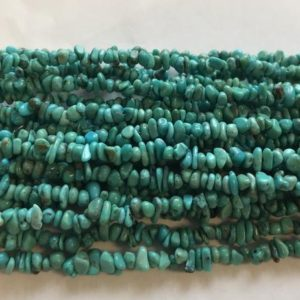 Shop Turquoise Chip & Nugget Beads! 100% natural turquoise nugget (1-3)x(3-5)mm Natural Gemstone Bead -15 inch strand–1 strand/3 strands/10 strands | Natural genuine chip Turquoise beads for beading and jewelry making.  #jewelry #beads #beadedjewelry #diyjewelry #jewelrymaking #beadstore #beading #affiliate #ad