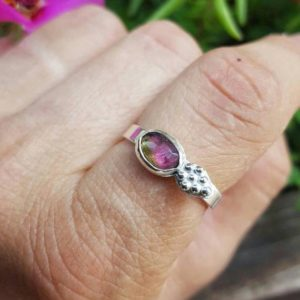 Shop Watermelon Tourmaline Rings! Watermelon Tourmaline Ring, Tourmaline Ring, Bi Color Tourmaline, Pink Tourmaline Ring, Feceted Tourmaline Ring | Natural genuine Watermelon Tourmaline rings, simple unique handcrafted gemstone rings. #rings #jewelry #shopping #gift #handmade #fashion #style #affiliate #ad