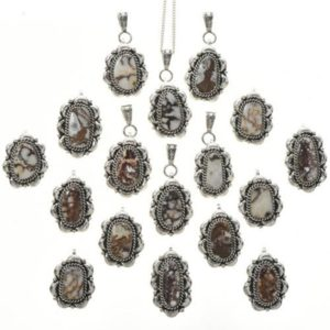 Wild Horse Magnesite Silver Navajo Pendant with Chain | Natural genuine Array pendants. Buy crystal jewelry, handmade handcrafted artisan jewelry for women.  Unique handmade gift ideas. #jewelry #beadedpendants #beadedjewelry #gift #shopping #handmadejewelry #fashion #style #product #pendants #affiliate #ad