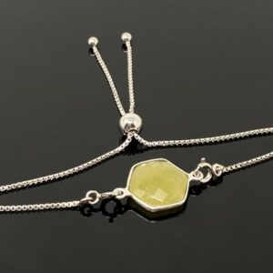 Shop Yellow Sapphire Bracelets! Yellow Sapphire Gemstone Bracelet, Sterling Silver Adjustable Bolo Bracelet, Layering Bracelet, Gifts for Her   Natural genuine Yellow Sapphire bracelets. Buy crystal jewelry, handmade handcrafted artisan jewelry for women.  Unique handmade gift ideas. #jewelry #beadedbracelets #beadedjewelry #gift #shopping #handmadejewelry #fashion #style #product #bracelets #affiliate #ad