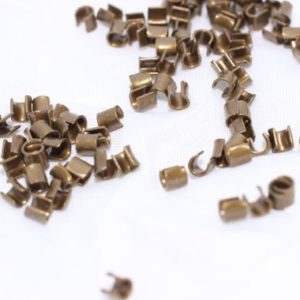 Shop Crimp Beads! 100 Pcs Crimp Beads 2,5mm , Crimp covers , crimp end findings , cord tip – bead tip , FNL67 | Shop jewelry making and beading supplies, tools & findings for DIY jewelry making and crafts. #jewelrymaking #diyjewelry #jewelrycrafts #jewelrysupplies #beading #affiliate #ad