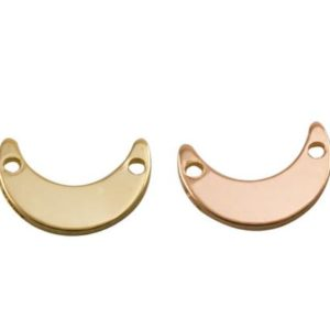 Shop Findings for Jewelry Making! 10Pcs-Mini Crescent Moon,Sterling Silver, Rose Gold Filled, Gold Filled ,Link Connector,Jewelry Making Supplies, Crescent Moon charm,89LC | Shop jewelry making and beading supplies, tools & findings for DIY jewelry making and crafts. #jewelrymaking #diyjewelry #jewelrycrafts #jewelrysupplies #beading #affiliate #ad