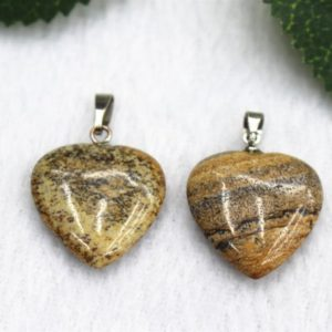 5pcs Picture Jasper Pendant 20mm Pillar Point Pendant Necklaces,Picture heart Pendant Handmade Jewelry Column Pendant,Pendants wholesale | Natural genuine Gemstone jewelry. Buy crystal jewelry, handmade handcrafted artisan jewelry for women.  Unique handmade gift ideas. #jewelry #beadedjewelry #beadedjewelry #gift #shopping #handmadejewelry #fashion #style #product #jewelry #affiliate #ad