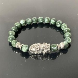 Shop Seraphinite Bracelets! Aaa Grad Seraphinite Healing Crystal Bracelet, Meaningful Jewelry, Natural Seraphinite Bracelet For Him And Her, Spiritual Gift, Clairvoyant | Natural genuine Seraphinite bracelets. Buy crystal jewelry, handmade handcrafted artisan jewelry for women.  Unique handmade gift ideas. #jewelry #beadedbracelets #beadedjewelry #gift #shopping #handmadejewelry #fashion #style #product #bracelets #affiliate #ad