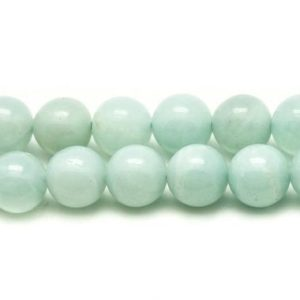 Shop Amazonite Bead Shapes! 5pc – stone beads – Amazonite 8mm 4558550026835 balls | Natural genuine other-shape Amazonite beads for beading and jewelry making.  #jewelry #beads #beadedjewelry #diyjewelry #jewelrymaking #beadstore #beading #affiliate #ad