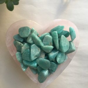 Shop Tumbled Amazonite Crystals & Pocket Stones! 20g of Amazonite, Amazonite Mini tumbled stone, tumbled Amazonite, amazonite | Natural genuine stones & crystals in various shapes & sizes. Buy raw cut, tumbled, or polished gemstones for making jewelry or crystal healing energy vibration raising reiki stones. #crystals #gemstones #crystalhealing #crystalsandgemstones #energyhealing #affiliate #ad
