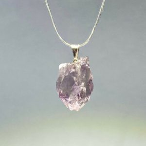 Shop Amethyst Necklaces! Uruguayan Amethyst Point Necklace | Natural genuine Amethyst necklaces. Buy crystal jewelry, handmade handcrafted artisan jewelry for women.  Unique handmade gift ideas. #jewelry #beadednecklaces #beadedjewelry #gift #shopping #handmadejewelry #fashion #style #product #necklaces #affiliate #ad