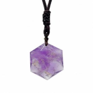 Shop Amethyst Pendants! Amethyst Healing Crystal Hexagon Pendant Necklace,Natural Stone Star of David Pendulum Necklace Men Women,Energy Protection Necklace Gifts | Natural genuine Amethyst pendants. Buy crystal jewelry, handmade handcrafted artisan jewelry for women.  Unique handmade gift ideas. #jewelry #beadedpendants #beadedjewelry #gift #shopping #handmadejewelry #fashion #style #product #pendants #affiliate #ad