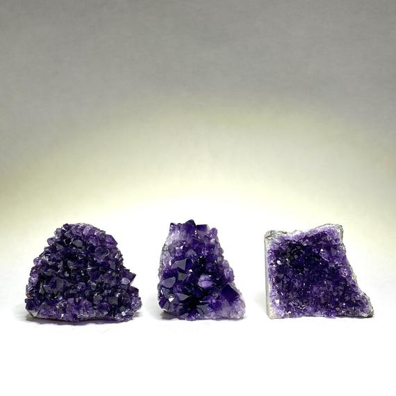 Amethyst Cluster With Cut Base - Extra