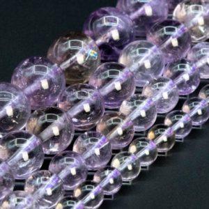 Shop Ametrine Round Beads! Ametrine Beads Clear Yellow Purple Genuine Natural Grade Aa Gemstone Round Loose Beads 6mm 8mm 10mm 12mm Bulk Lot Options | Natural genuine round Ametrine beads for beading and jewelry making.  #jewelry #beads #beadedjewelry #diyjewelry #jewelrymaking #beadstore #beading #affiliate #ad