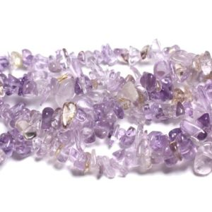 Shop Ametrine Chip & Nugget Beads! 50pc – rock stone Ametrine 5-12mm 4558550007179 Chips beads   Natural genuine chip Ametrine beads for beading and jewelry making.  #jewelry #beads #beadedjewelry #diyjewelry #jewelrymaking #beadstore #beading #affiliate #ad