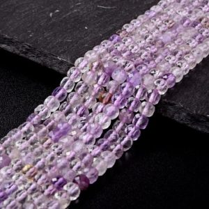 Shop Ametrine Faceted Beads! 5MM  Ametrine Gemstone Grade A Micro Faceted Square Cube Loose Beads (P6)   Natural genuine faceted Ametrine beads for beading and jewelry making.  #jewelry #beads #beadedjewelry #diyjewelry #jewelrymaking #beadstore #beading #affiliate #ad