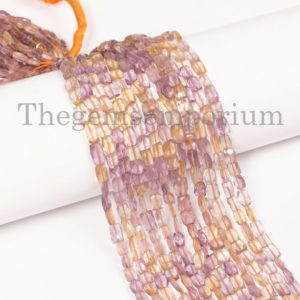Shop Ametrine Faceted Beads! Ametrine Faceted flat cushion Shape Beads, Ametrine Faceted Beads, Ametrine flat cushion Shape Beads, Ametrine Beads, Ametrine   Natural genuine faceted Ametrine beads for beading and jewelry making.  #jewelry #beads #beadedjewelry #diyjewelry #jewelrymaking #beadstore #beading #affiliate #ad