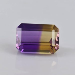 Shop Ametrine Stones & Crystals! 14x10x8.2 mm Natural Ametrine Multi Color Faceted Cut Octagon 1 Piece  9.16 cts Loose Gemstone – 100% Natural Ametrine Gemstone -ATMLT-1004 | Natural genuine stones & crystals in various shapes & sizes. Buy raw cut, tumbled, or polished gemstones for making jewelry or crystal healing energy vibration raising reiki stones. #crystals #gemstones #crystalhealing #crystalsandgemstones #energyhealing #affiliate #ad