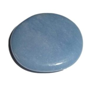 Shop Angelite Stones & Crystals! 1pc Natural Angelite Healing Crystal Round Smooth Polished Gemstone ,Palm, Pocket Stone   Natural genuine stones & crystals in various shapes & sizes. Buy raw cut, tumbled, or polished gemstones for making jewelry or crystal healing energy vibration raising reiki stones. #crystals #gemstones #crystalhealing #crystalsandgemstones #energyhealing #affiliate #ad