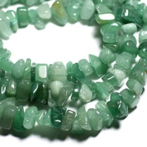 Shop Aventurine Chip & Nugget Beads! 40pc – stone beads green Aventurine – chips 6-19mm seed beads – 4558550089205 | Natural genuine chip Aventurine beads for beading and jewelry making.  #jewelry #beads #beadedjewelry #diyjewelry #jewelrymaking #beadstore #beading #affiliate #ad