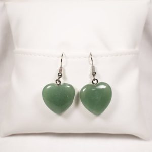 Shop Aventurine Earrings! Natural Green Aventurine Earrings, Heart Chakra Earrings, Aventurine Jewelry, Gemstone Earrings, Natural Stone Earrings, Anniversary Gift | Natural genuine Aventurine earrings. Buy crystal jewelry, handmade handcrafted artisan jewelry for women.  Unique handmade gift ideas. #jewelry #beadedearrings #beadedjewelry #gift #shopping #handmadejewelry #fashion #style #product #earrings #affiliate #ad