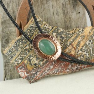 Shop Aventurine Necklaces! Natural Green Aventurine Bolo Tie – Western Bolo Tie – Cowboy Bolo Tie Necklace – Copper Bolo Tie | Natural genuine Aventurine necklaces. Buy crystal jewelry, handmade handcrafted artisan jewelry for women.  Unique handmade gift ideas. #jewelry #beadednecklaces #beadedjewelry #gift #shopping #handmadejewelry #fashion #style #product #necklaces #affiliate #ad