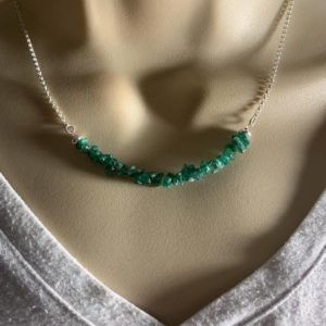 Shop Aventurine Necklaces! Aventurine Necklace, Prosperity Green Crystal Jewelry, Silver Choker, Balance | Natural genuine Aventurine necklaces. Buy crystal jewelry, handmade handcrafted artisan jewelry for women.  Unique handmade gift ideas. #jewelry #beadednecklaces #beadedjewelry #gift #shopping #handmadejewelry #fashion #style #product #necklaces #affiliate #ad