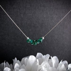 Shop Aventurine Necklaces! Raw Green Aventurine Necklace, Abundance Crystal, Courage Necklace, Stress Relief | Natural genuine Aventurine necklaces. Buy crystal jewelry, handmade handcrafted artisan jewelry for women.  Unique handmade gift ideas. #jewelry #beadednecklaces #beadedjewelry #gift #shopping #handmadejewelry #fashion #style #product #necklaces #affiliate #ad