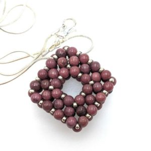 Shop Lepidolite Necklaces! Beaded Necklace / Lepidolite Pendant / Square Pendant Necklace / Slide Necklace / Gemstone Jewelry / Gemstone Pendant / Lepidolite Jewelry | Natural genuine Lepidolite necklaces. Buy crystal jewelry, handmade handcrafted artisan jewelry for women.  Unique handmade gift ideas. #jewelry #beadednecklaces #beadedjewelry #gift #shopping #handmadejewelry #fashion #style #product #necklaces #affiliate #ad