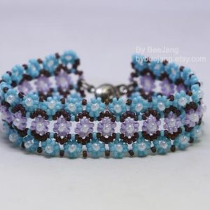 Shop Jewelry Making Tutorials! Beading Tutorials, Astera Bracelet, Digital Download, PDF | Shop jewelry making and beading supplies, tools & findings for DIY jewelry making and crafts. #jewelrymaking #diyjewelry #jewelrycrafts #jewelrysupplies #beading #affiliate #ad