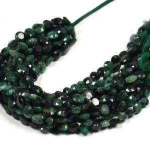 Shop Emerald Bead Shapes! Beryl Emerald Faceted Coin Side Drill Beads~~~Beryl faceted Coin side Drill Round Beads -8 Inches | Natural genuine other-shape Emerald beads for beading and jewelry making.  #jewelry #beads #beadedjewelry #diyjewelry #jewelrymaking #beadstore #beading #affiliate #ad