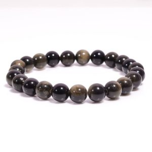 Shop Golden Obsidian Bracelets! Black Golden Obsidian Bracelet,Thread Bracelet,Healing Crystal Bracelet,Gemstone Bracelets,Bracelets for Women,Valentines Gift,Reiki Jewelry | Natural genuine Golden Obsidian bracelets. Buy crystal jewelry, handmade handcrafted artisan jewelry for women.  Unique handmade gift ideas. #jewelry #beadedbracelets #beadedjewelry #gift #shopping #handmadejewelry #fashion #style #product #bracelets #affiliate #ad