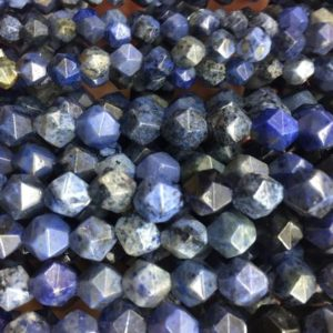 Shop Dumortierite Beads! blue dumortierite stone diamond shape beads – sky blue gemstone beads – jewelry beads and findings – beads for earring making – 15inch | Natural genuine faceted Dumortierite beads for beading and jewelry making.  #jewelry #beads #beadedjewelry #diyjewelry #jewelrymaking #beadstore #beading #affiliate #ad