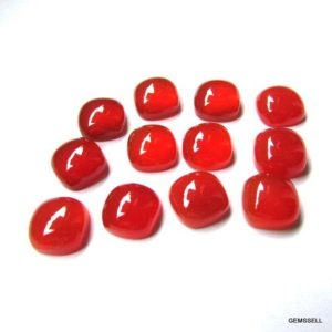 Shop Carnelian Stones & Crystals! 10mm CARNELIAN Cabochon Cushion AAA Quality gemstone… | Natural genuine stones & crystals in various shapes & sizes. Buy raw cut, tumbled, or polished gemstones for making jewelry or crystal healing energy vibration raising reiki stones. #crystals #gemstones #crystalhealing #crystalsandgemstones #energyhealing #affiliate #ad