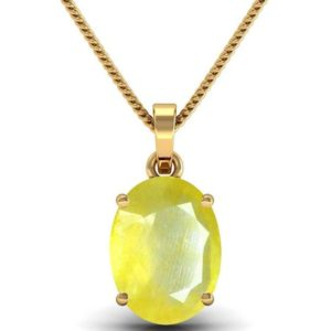 Shop Yellow Sapphire Pendants! Certified 6 Carat Yellow Sapphire Pendant, Handmade Gold, Plated Pendant For Men And Woman, Christmas Gift. | Natural genuine Yellow Sapphire pendants. Buy handcrafted artisan men's jewelry, gifts for men.  Unique handmade mens fashion accessories. #jewelry #beadedpendants #beadedjewelry #shopping #gift #handmadejewelry #pendants #affiliate #ad