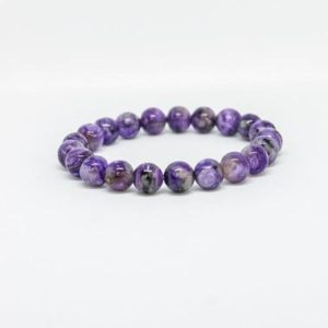Shop Charoite Bracelets! Purple Russian Charoite gemstone stacking crystal bracelets for women gift for her Beaded Bracelets Anxity Bracelet Stretch Bracelet | Natural genuine Charoite bracelets. Buy crystal jewelry, handmade handcrafted artisan jewelry for women.  Unique handmade gift ideas. #jewelry #beadedbracelets #beadedjewelry #gift #shopping #handmadejewelry #fashion #style #product #bracelets #affiliate #ad