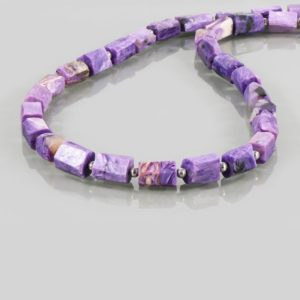 Shop Charoite Necklaces! Natural Russian Charoite Beads Necklace, Sterling Silver Charoite Necklace, Purple Gemstone Charoite Necklace, Genuine Charoite Jewelry | Natural genuine Charoite necklaces. Buy crystal jewelry, handmade handcrafted artisan jewelry for women.  Unique handmade gift ideas. #jewelry #beadednecklaces #beadedjewelry #gift #shopping #handmadejewelry #fashion #style #product #necklaces #affiliate #ad
