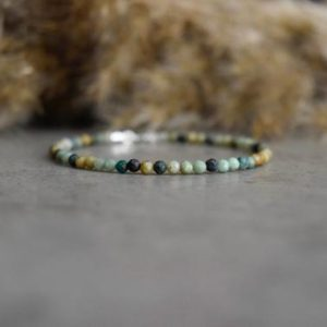 Shop Chrysocolla Bracelets! Fynchenite Chrysocolla bracelet, Gemini bracelet,  bracelet femme, gemstone bracelet, 2mm bead bracelet, Chrysocolla jewelry, gift for Her | Natural genuine Chrysocolla bracelets. Buy crystal jewelry, handmade handcrafted artisan jewelry for women.  Unique handmade gift ideas. #jewelry #beadedbracelets #beadedjewelry #gift #shopping #handmadejewelry #fashion #style #product #bracelets #affiliate #ad