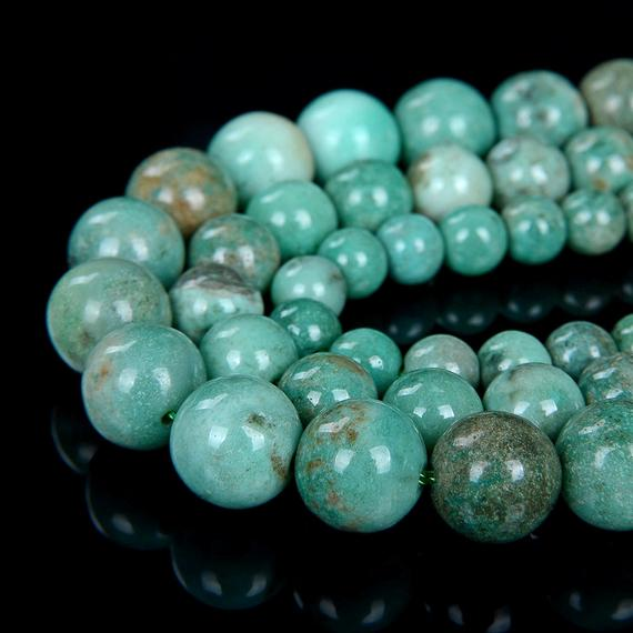Chrysoprase Gemstone Grade Aaa Round 6mm 8mm 10mm Loose Beads Bulk Lot 1,2,6,12 And 50 (d6)
