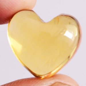 Shop Citrine Cabochons! Natural Citrine Cabochon, Brazilian Citrine, Heart Shape. Available Size 6 MM to 15 MM, Yellow Citrine, Smooth, Flat Back Side, Calibrated, | Natural genuine stones & crystals in various shapes & sizes. Buy raw cut, tumbled, or polished gemstones for making jewelry or crystal healing energy vibration raising reiki stones. #crystals #gemstones #crystalhealing #crystalsandgemstones #energyhealing #affiliate #ad