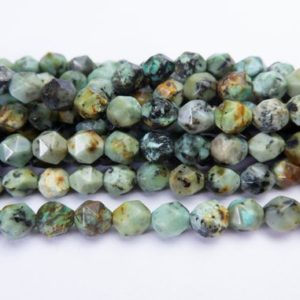 Shop Diamond Bead Shapes! African turquoise diamond beads – pale green stone beads – craft supplies online -semi precious stone beads -gemstone beads for sale -15inch | Natural genuine other-shape Diamond beads for beading and jewelry making.  #jewelry #beads #beadedjewelry #diyjewelry #jewelrymaking #beadstore #beading #affiliate #ad