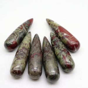 Shop Bloodstone Points & Wands! Dragon Blood Jasper Wands, Dragon Bloodstone, Dragon Stone | Natural genuine stones & crystals in various shapes & sizes. Buy raw cut, tumbled, or polished gemstones for making jewelry or crystal healing energy vibration raising reiki stones. #crystals #gemstones #crystalhealing #crystalsandgemstones #energyhealing #affiliate #ad