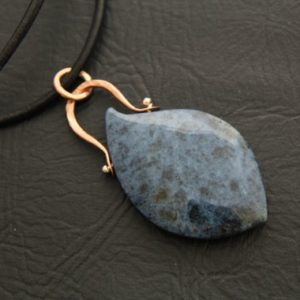 Shop Dumortierite Pendants! DUMORTIERITE GEMSTONE PENDANT, 7th Anniversary Gift, Mother's Day Gift, Hinged Pendant, Marquis shape, Gift for Her,  Made in Canada/GE1008 | Natural genuine Dumortierite pendants. Buy crystal jewelry, handmade handcrafted artisan jewelry for women.  Unique handmade gift ideas. #jewelry #beadedpendants #beadedjewelry #gift #shopping #handmadejewelry #fashion #style #product #pendants #affiliate #ad