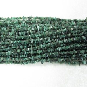 Shop Emerald Chip & Nugget Beads! 32 inch 4mm to 5mm approx.. GREEN Emerald Rough Beads Uncut Strand, Emerald uncut beads strand… | Natural genuine chip Emerald beads for beading and jewelry making.  #jewelry #beads #beadedjewelry #diyjewelry #jewelrymaking #beadstore #beading #affiliate #ad