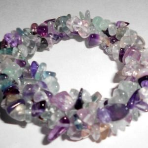 Shop Fluorite Bracelets! Fluorite Tri Twist Woven Natural Crystal Healing Chip Gemstone Energy Stretch Bracelet –  Free USA Shipping | Natural genuine Fluorite bracelets. Buy crystal jewelry, handmade handcrafted artisan jewelry for women.  Unique handmade gift ideas. #jewelry #beadedbracelets #beadedjewelry #gift #shopping #handmadejewelry #fashion #style #product #bracelets #affiliate #ad