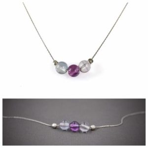 Shop Fluorite Jewelry! Purple Fluorite Jewelry, Anxiety Crystals, Empath Jewelry, Pisces Necklace | Natural genuine Fluorite jewelry. Buy crystal jewelry, handmade handcrafted artisan jewelry for women.  Unique handmade gift ideas. #jewelry #beadedjewelry #beadedjewelry #gift #shopping #handmadejewelry #fashion #style #product #jewelry #affiliate #ad