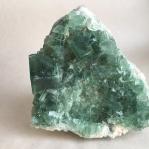 Shop Raw & Rough Fluorite Stones! Raw Green Cubic Fluorite cluster | Natural genuine stones & crystals in various shapes & sizes. Buy raw cut, tumbled, or polished gemstones for making jewelry or crystal healing energy vibration raising reiki stones. #crystals #gemstones #crystalhealing #crystalsandgemstones #energyhealing #affiliate #ad