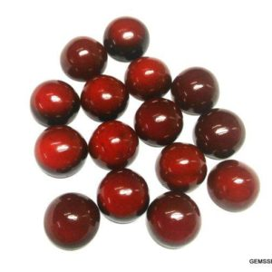 Shop Garnet Cabochons! 5 pieces 8mm Garnet Cabochon Round Loose Gemstone, Garnet Round cabochon gemstone, Garnet Cabochon Loose Gemstone | Natural genuine stones & crystals in various shapes & sizes. Buy raw cut, tumbled, or polished gemstones for making jewelry or crystal healing energy vibration raising reiki stones. #crystals #gemstones #crystalhealing #crystalsandgemstones #energyhealing #affiliate #ad