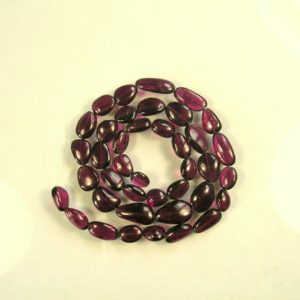 """Shop Garnet Chip & Nugget Beads! Rhodolite pink garnet smooth nugget beads AAA 10-15mm 16.5"""" strand 