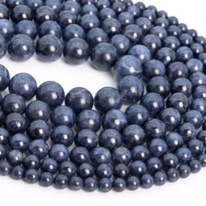 Shop Sapphire Round Beads! Genuine Natural Myanmar Sapphire Loose Beads Myanmar Grade AAA Round Shape 5mm 6mm 7mm 8-9mm 10mm 10-11mm | Natural genuine round Sapphire beads for beading and jewelry making.  #jewelry #beads #beadedjewelry #diyjewelry #jewelrymaking #beadstore #beading #affiliate #ad