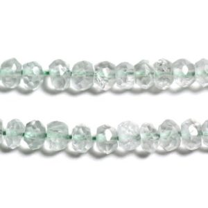 Shop Green Amethyst Beads! 10pc – stone beads – green amethyst Prasiolite 3x2mm faceted Rondelles – 4558550090362 | Natural genuine faceted Green Amethyst beads for beading and jewelry making.  #jewelry #beads #beadedjewelry #diyjewelry #jewelrymaking #beadstore #beading #affiliate #ad