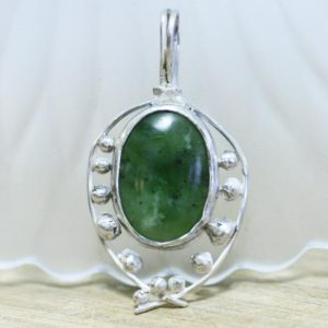 Shop Jade Pendants! Clearance – Large Natural Bc British Columbia Jade Pendant In Solid Sterling Silver , Bezel Set , Healing Gem , Unisex Pendant | Natural genuine Jade pendants. Buy crystal jewelry, handmade handcrafted artisan jewelry for women.  Unique handmade gift ideas. #jewelry #beadedpendants #beadedjewelry #gift #shopping #handmadejewelry #fashion #style #product #pendants #affiliate #ad